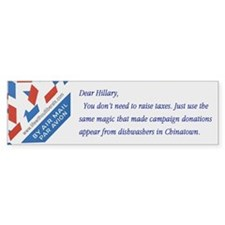 Dear ... Hillary bumper sticker
