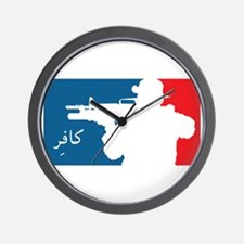 Major League type Infidel Wall Clock