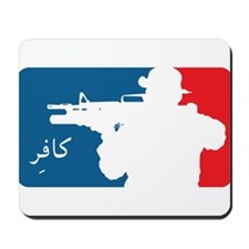 Major League type Infidel Mousepad
