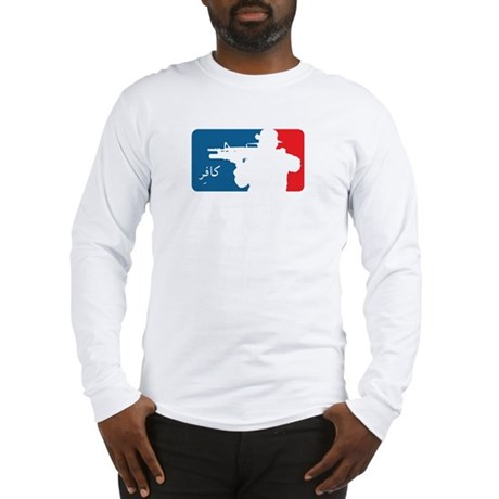 Major League type Infidel Long Sleeve T-Shirt