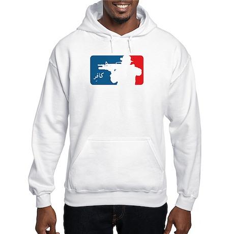 Major League type Infidel Hooded Sweatshirt