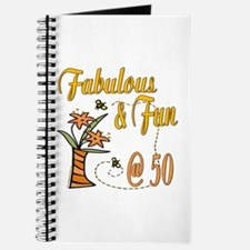 Floral 50th Journal