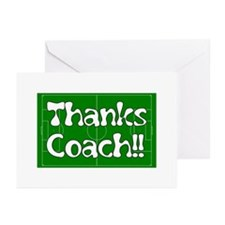 Soccer Shirts for Kass' Team Greeting Cards (Pk of