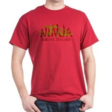 Dragon Ninja Science Teacher T-Shirt