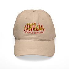 Dragon Ninja Science Teacher Baseball Cap