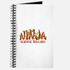 Dragon Ninja Science Teacher Journal