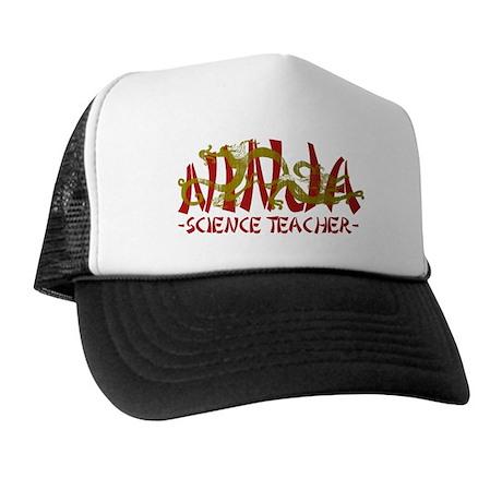 Dragon Ninja Science Teacher Trucker Hat