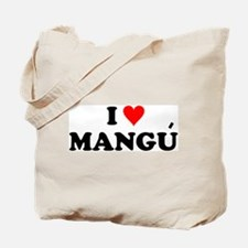 I Love Mangu Tote Bag
