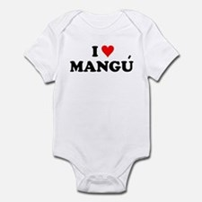 I Love Mangu Infant Bodysuit