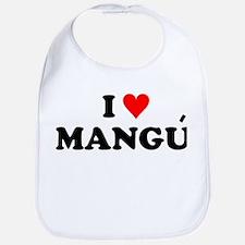 I Love Mangu Bib