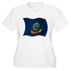 Wavy Idaho Flag T-Shirt