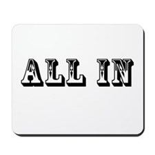 All In Mousepad
