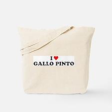 I Love Gallo Pinto Tote Bag