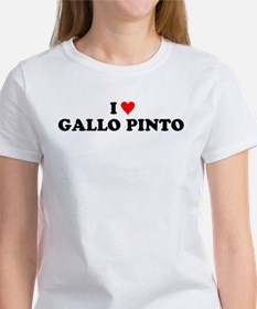 I Love Gallo Pinto Women's T-Shirt