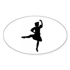 Highland Warmups Oval Decal