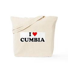 I Love Cumbia Tote Bag