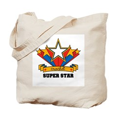 Crochet Superstar Tote Bag