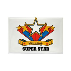 Yarn Spinning Superstar Rectangle Magnet (100 pack