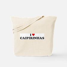 I Love Caipirinhas Tote Bag