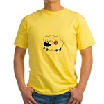 Wool - Yarn Fiber Yellow T-Shirt