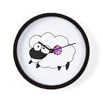 Wool - Yarn Fiber Wall Clock