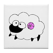 Wool - Yarn Fiber Tile Coaster