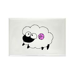 Wool - Yarn Fiber Rectangle Magnet (100 pack)