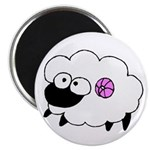 Wool - Yarn Fiber Magnet