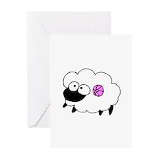 Wool - Yarn Fiber Greeting Card
