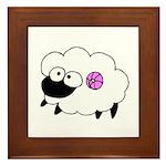 Wool - Yarn Fiber Framed Tile