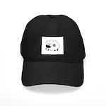 Wool - Yarn Fiber Black Cap