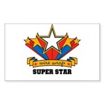 Wire Wrap Superstar - Jewelry Rectangle Sticker 1