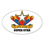 Wire Wrap Superstar - Jewelry Oval Sticker (10 pk)