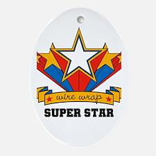 Wire Wrap Superstar - Jewelry Oval Ornament