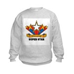 Wire Wrap Superstar - Jewelry Kids Sweatshirt