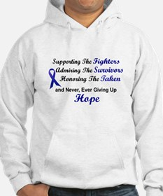 Supporting Admiring Honoring 1 (Blue) Hoodie Sweatshirt