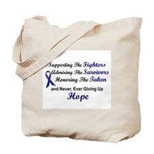 Supporting Admiring Honoring 1 (Blue) Tote Bag