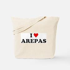 I Love Arepas Tote Bag