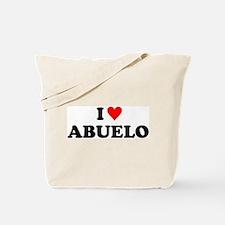 I Love Abuelo Tote Bag