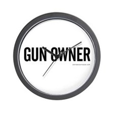 GUN OWNER Wall Clock