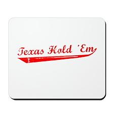 Texas Hold Em Mousepad