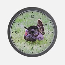 Male Turkey Wall Clock