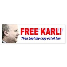 Free Karl Bumper Bumper Sticker