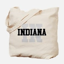 IN Indiana Tote Bag
