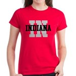 IN Indiana Women's Dark T-Shirt