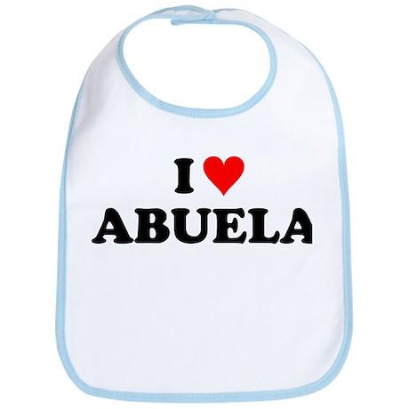 I Love Abuela Bib