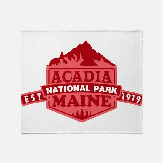 Acadia - Maine Throw Blanket