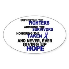 Supporting Admiring Honoring 3 (Blue) Decal