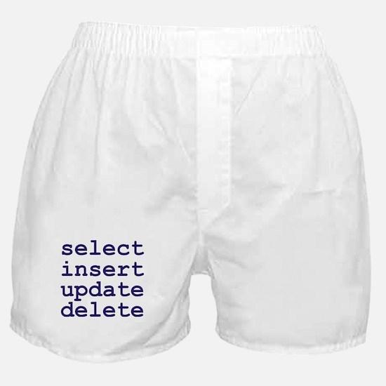 Unique Sql Boxer Shorts