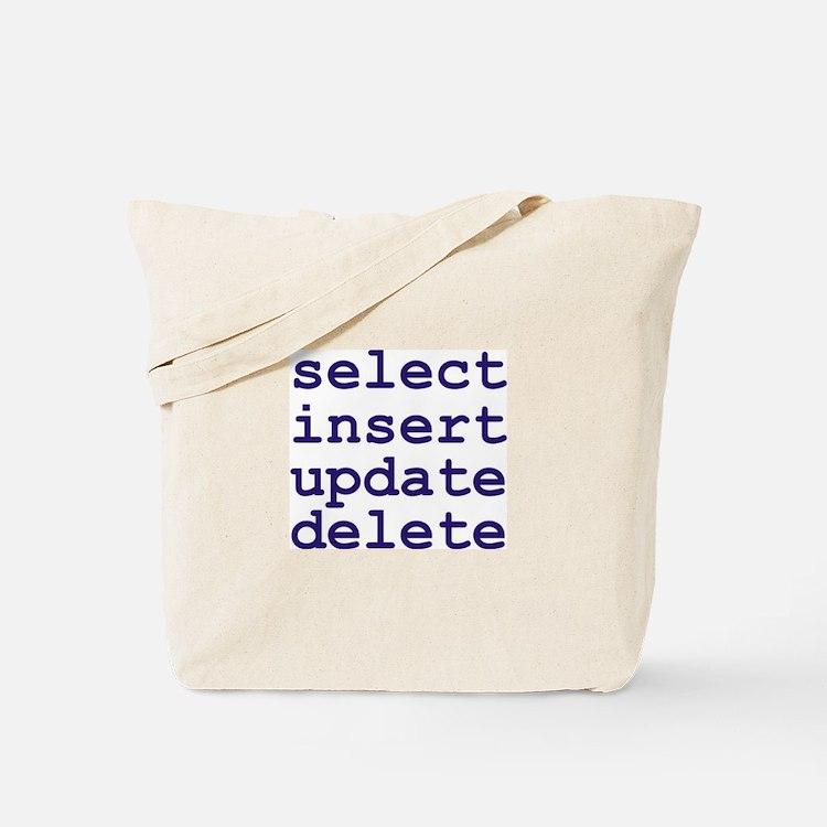 Cute Database professional Tote Bag
